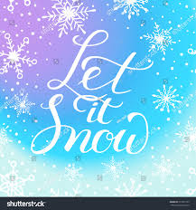 let snow greeting card new stock vector 517503133