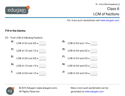 lcm of fractions educational articles edugain global