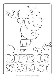 sweet ice cream sundae coloring pages 3977 ice cream sundae