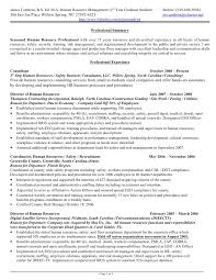 Resume Examples For Human Resources by Combination Resume Sample Human Resources Generalist Resume
