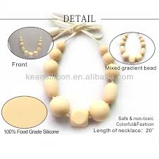 mother care and baby products baby safe necklace leather teething