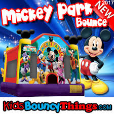 mickey mouse clubhouse bounce house mickey park