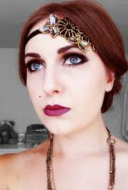 Halloween Party Makeup Roaring 20 U0027s Make Up Make Up Pinterest Roaring 20s Makeup