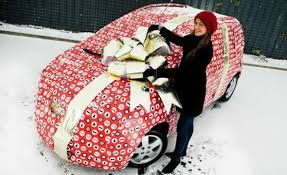 car wrapped in wrapping paper 10 who got outrageously creative in wrapping their presents