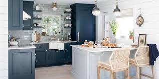 kitchen wall color with white cabinets 15 blue kitchen design ideas blue kitchen walls