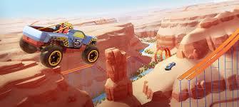 wheels race landing hotwheels
