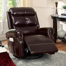 Living Room Swivel Chairs by Extraordinary Leather Swivel Chair Living Room Using Round Base