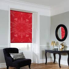 Red Blackout Blind Red Blackout Roller Blinds Made To Measure From Direct Blinds