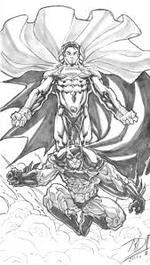 batman superman sketches superman v batman sketchshane derek on