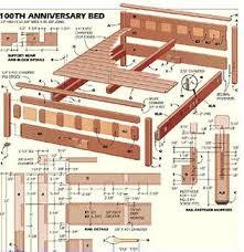 Wooden Bed Frame Parts Bed Frame As Luxury For King Platform Bed Frame Wood Bed