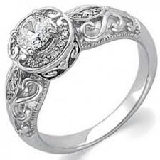 Affordable Wedding Rings by Affordable Vintage Engagement Rings Wedding Promise Diamond