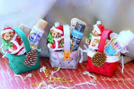 crafts mini gift basket ornaments diy