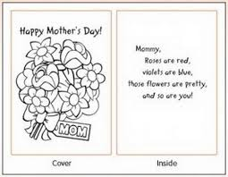 s day cards for kids printable mothers day cards kids easy printable mothers day cards