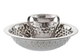 netilat yadayim cup stainless steel diamond design netilat yadayim wash cup and bowl set