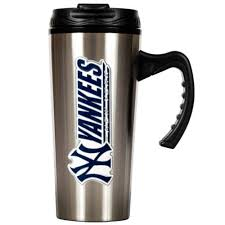 New York travel cups images York yankees stainless steel travel mug