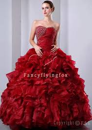 sweetheart red affordable quinceanera dresses 2012 ps19 2163