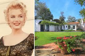 marilyn monroe house finest home marilyn monroe died in hits