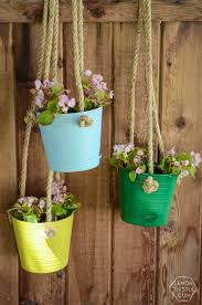 diy hanging planters for the patio home depot gift challenge