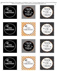 Free Printable Halloween Potion Labels by Happy Halloween Printable Labels U2013 Fun For Halloween