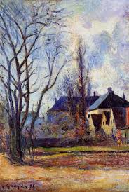 winter s end 1885 paul gauguin wikiart org