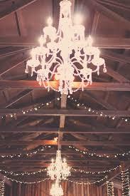 Rustic Wedding Chandelier Ashley U0026amp David U0027s Rustic Wedding