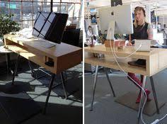 ikea standing desk hack adjustable house stuff pinterest
