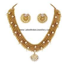 designer south indian necklace