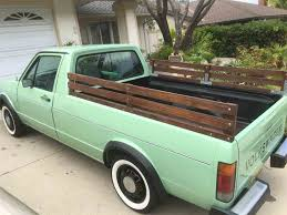 volkswagen rabbit truck interior 1980 volkswagen rabbit pickup for sale classiccars com cc 1017338