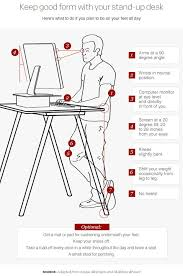 Ergonomic Standing Desk Setup Creative Of Ergonomic Standing Desk Setup Best Ideas About Stand