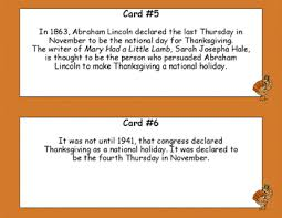 thanksgiving 10 facts reading comprehension scavenger hunt by
