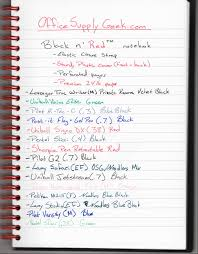 picture and writing paper black n red notebook cost effective high quality notebook lots of different pens and inks to test out the 24lb paper in the black n