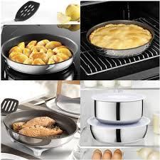batterie cuisine induction pas cher batterie de cuisine induction 10 pièces preference ingenio tefal