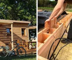 Wood Lego House   brikawood wooden house building bricks awesome stuff 365