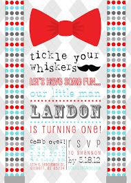 mustache invitations little gentleman birthday invitation on etsy 12 00 for donald