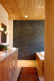 charcoal black standing pebble tile pebble tiles natural