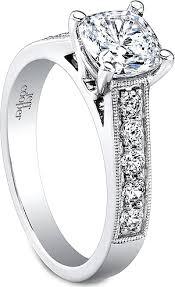 milgrain engagement ring jeff cooper pave milgrain engagement ring rp1603cu