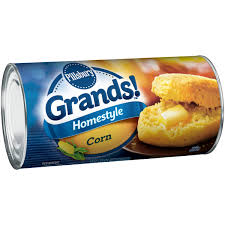 pillsbury grands homestyle corn biscuits 8 ct can walmart com