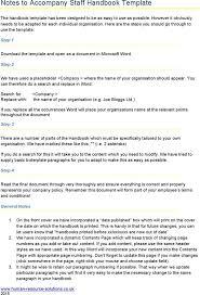 word manual template word manual template 5 free word documents