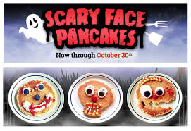 ihop black friday deals ihop free scary face pancake for kids on october 30th from 7