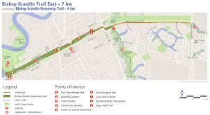 Trans Canada Highway Map by Bishop Grandin Trail East Winnipeg Trails Associationwinnipeg