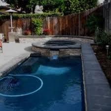 swimming pool ideas for small backyards solstice fiberglass inground pool pools pinterest