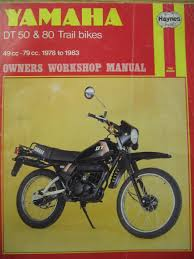 yamaha dt50 and 80 trail bikes owner u0027s workshop manual chris