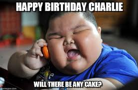 Charlie Meme - fat asian kid birthday happy birthday charlie on memegen