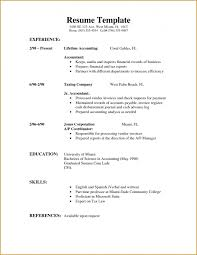 How To Write A Resume For The First Time Jennywashere Com by Example Of A Simple Resume For A Job Basic Job Resume Template A