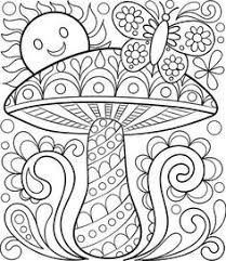 5 happy garden printable colouring pages