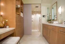 bathroom cabinet designs bathroom contemporary with cream honey