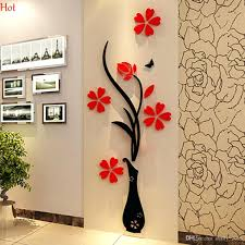 wall ideas 3d wall art stickers south africa this 3 d flower