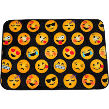 emojipals royal plush printed rug 30