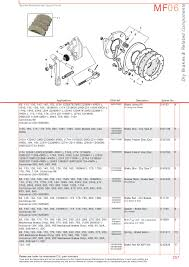massey ferguson brakes page 267 sparex parts lists u0026 diagrams