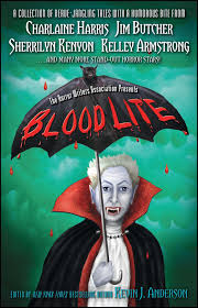 blood lite an anthology of humorous horror stories presented by